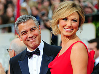 Date Night at the 2012 Globes | George Clooney