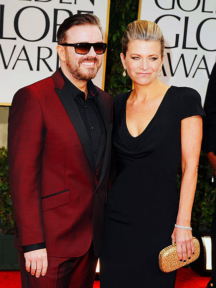 RICKY & JANE photo | Ricky Gervais