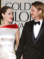 You Voted: The Best & Worst of the 2012 Globes | Angelina Jolie, Brad Pitt