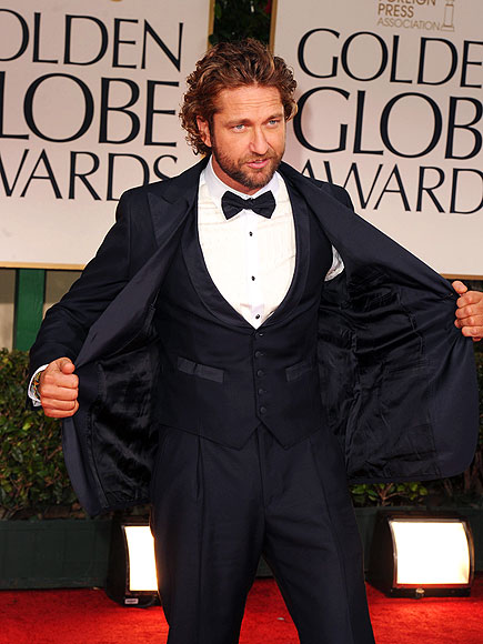 VEST INTEREST photo | Gerard Butler