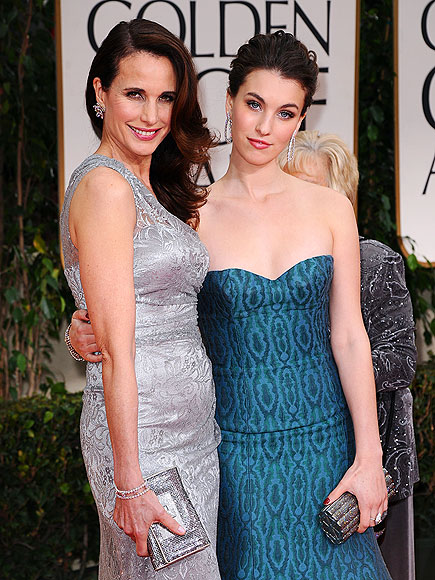 ANDIE & RAINEY photo | Andie MacDowell