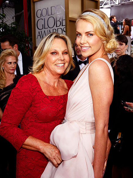 CHARLIZE & MOM GERDA photo | Charlize Theron