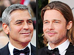 George Pokes Fun at Injured Brad at Golden Globes | Angelina Jolie, Brad Pitt, George Clooney