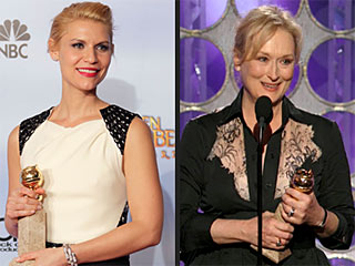 Meryl Loves Viola, Globes Love The Artist, Descendants | Claire Danes, Meryl Streep