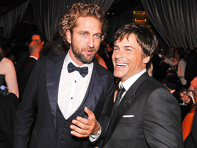 HUNK HANGOUT photo | Gerard Butler, Rob Lowe
