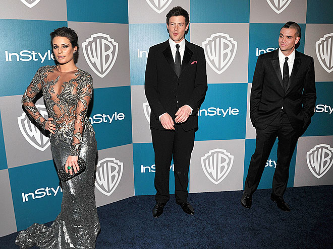 LEADING LADY photo | Cory Monteith, Lea Michele, Mark Salling