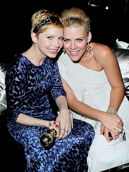 GOLDEN GIRL photo | Busy Philipps, Michelle Williams