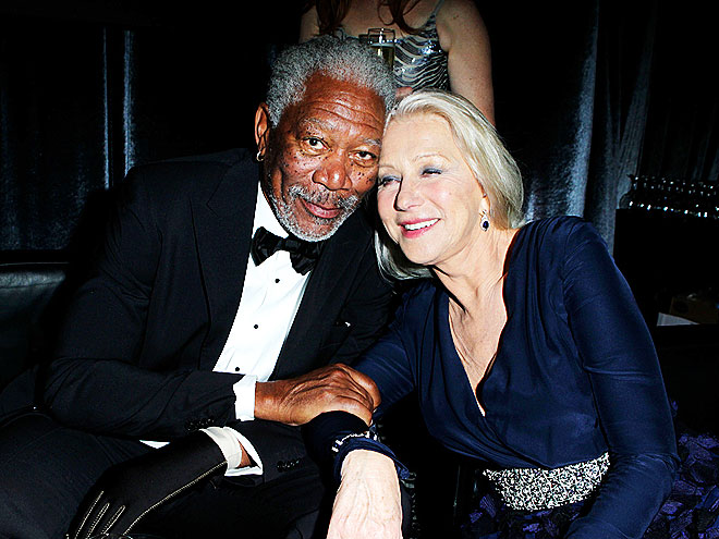 HEADS UP photo | Helen Mirren, Morgan Freeman