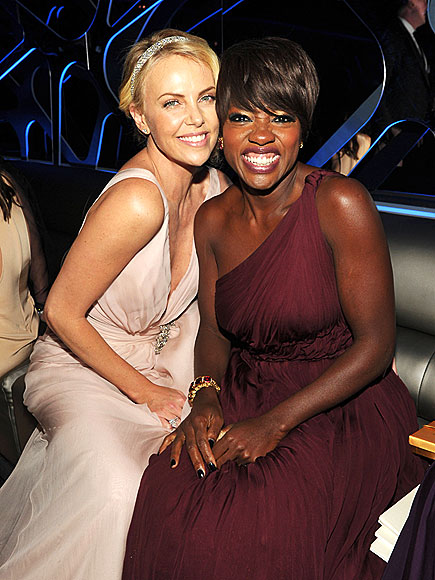 HAPPY DAY photo | Charlize Theron, Viola Davis