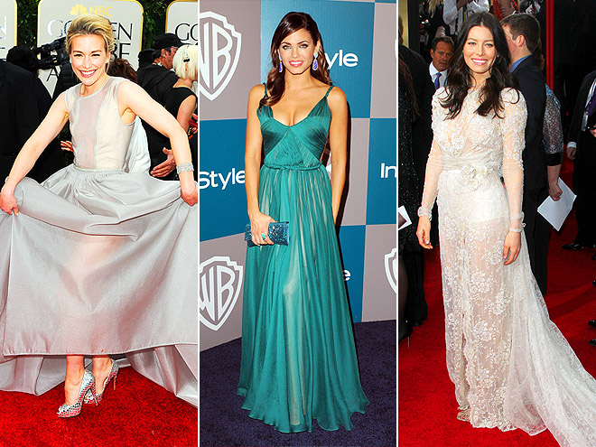 LEG-REVEALING GOWNS photo | Jenna Dewan, Jessica Biel, Piper Perabo