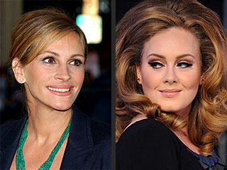 Adele's A-List Fan Club | Adele, Julia Roberts