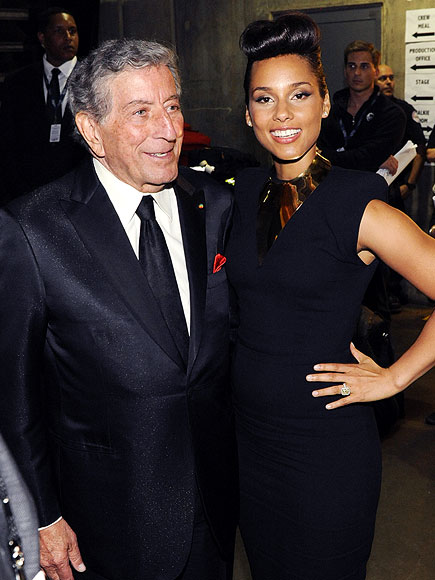 TICKLING KEYS photo | Alicia Keys, Tony Bennett