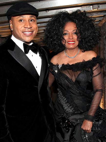 HOST WITH THE MOST photo | Diana Ross, LL Cool J