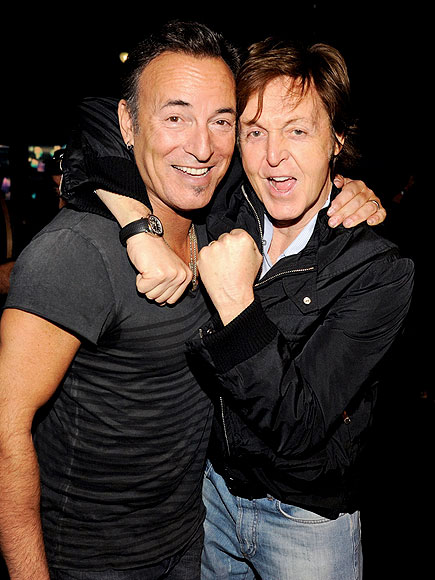 LEGENDS OF ROCK photo | Bruce Springsteen, Paul McCartney
