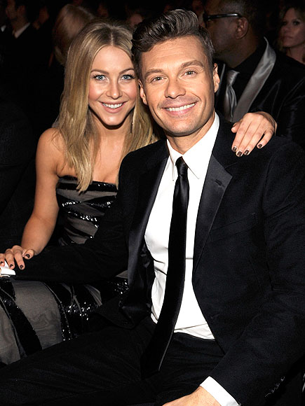 WORKING DATE NIGHT photo | Julianne Hough, Ryan Seacrest