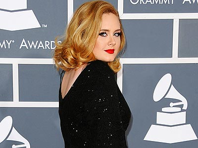 Flashback: Grammy '12's Boldest & Best Dressed | Adele
