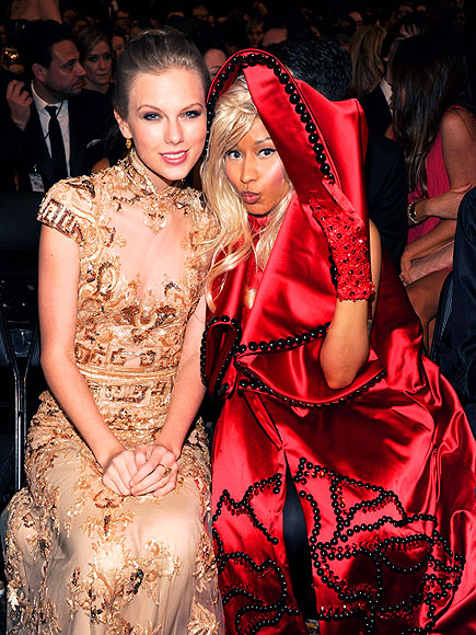HUE KNEW?   photo | Nicki Minaj, Taylor Swift