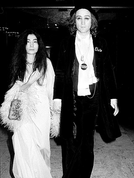 JOHN LENNON & YOKO ONO, 1975 photo | John Lennon, Yoko Ono