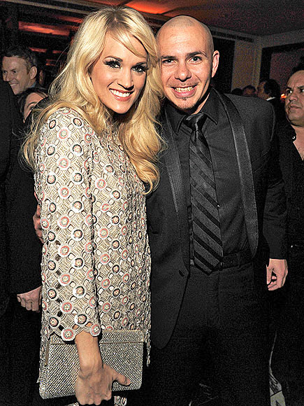 PARTY PIT STOP photo | Carrie Underwood, Pitbull