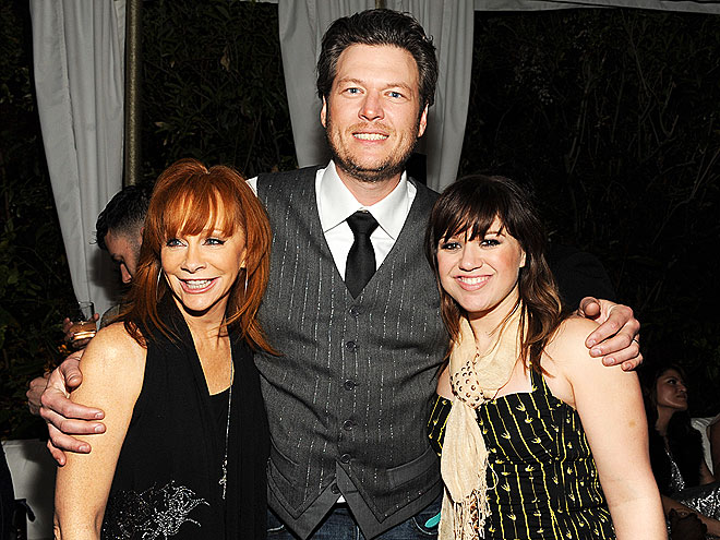 LADIES' MAN photo | Blake Shelton, Kelly Clarkson, Reba McEntire