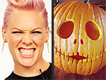 Stars Get Psyched for Halloween! | Pink