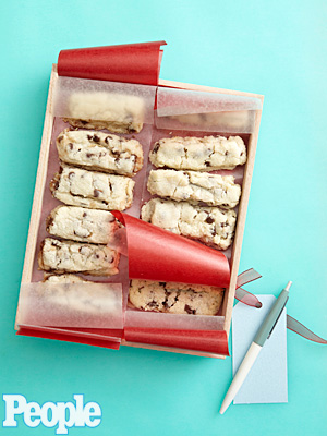 Melissa D'Arabian's Rosemary-Chocolate Chip Shortbread