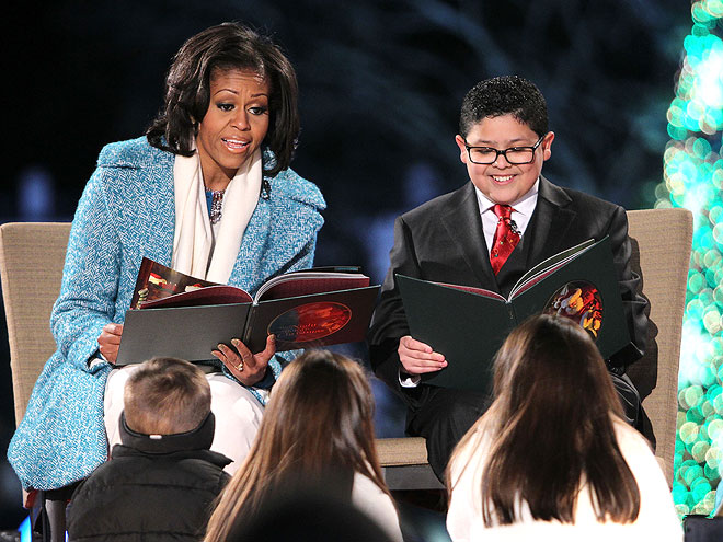 MICHELLE OBAMA & RICO RODRIGUEZ photo | Michelle Obama