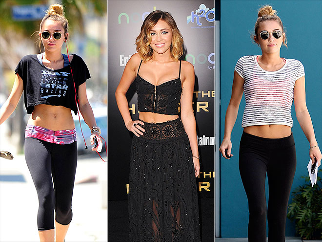 MILEY'S MIDRIFF