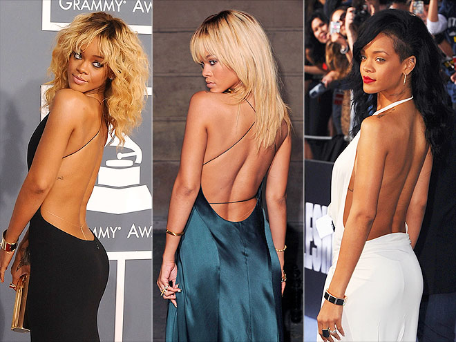RIHANNA'S BACK