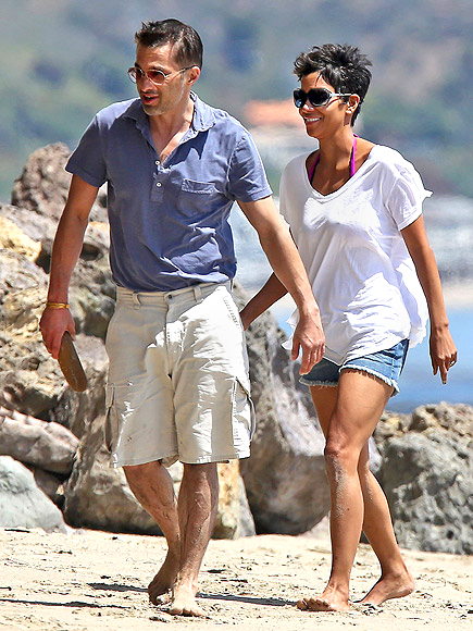 OLIVIER MARTINEZ & HALLE BERRY