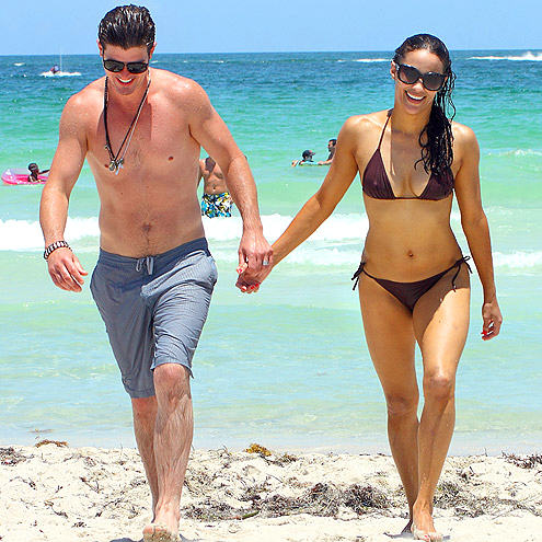 ROBIN THICKE & PAULA PATTON photo | Paula Patton, Robin Thicke