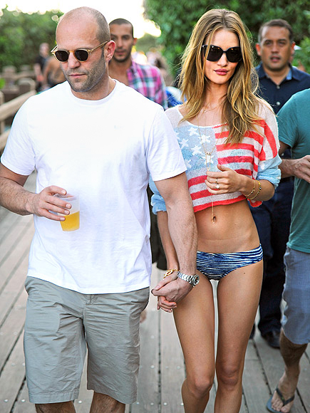 JASON STATHAM & ROSIE HUNTINGTON-WHITELEY