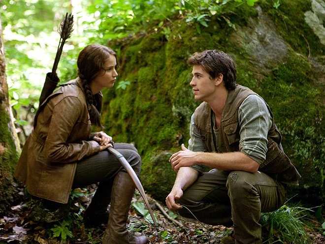KATNISS & GALE'S GOODBYE SCENE
