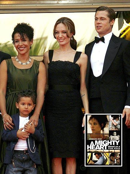 A MIGHTY HEART photo | Angelina Jolie, Brad Pitt