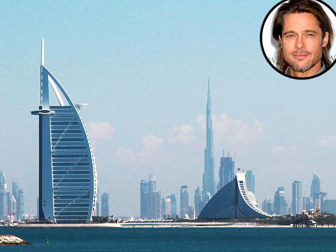 A DUBAI HOTEL  photo | Brad Pitt