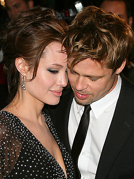 Brad Pitt and Angelina Jolie's Top 10 PDA Moments