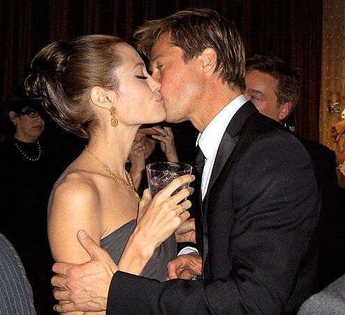 GOLDEN COUPLE  photo | Angelina Jolie, Brad Pitt