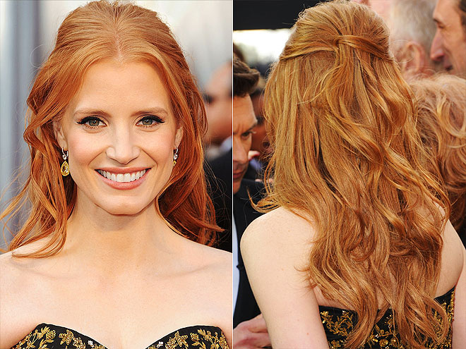 Oscars 2012 Winning Hair & Makeup Looks