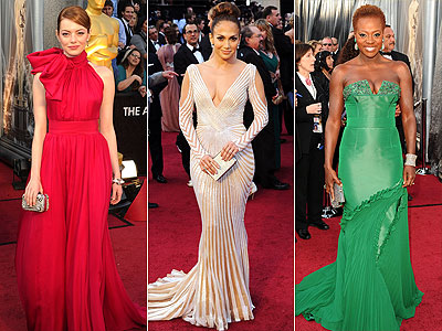 15 Best Dressed at the 2012 Oscars | Emma Stone