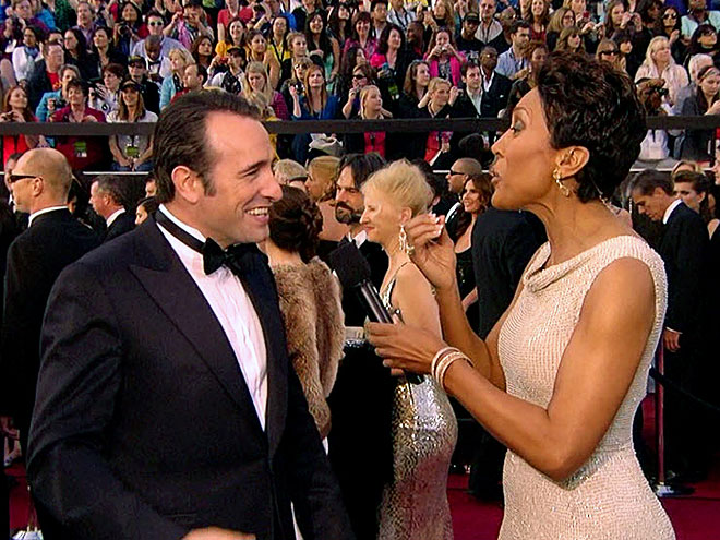  photo | Jean Dujardin, Robin Roberts