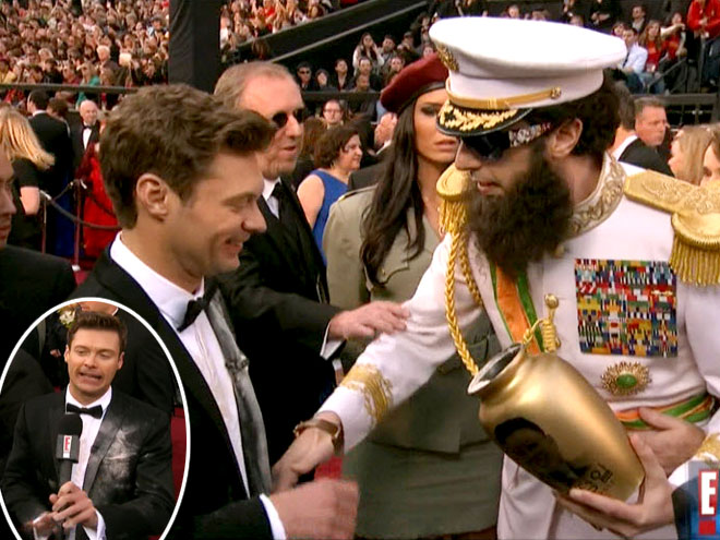photo | Ryan Seacrest, Sacha Baron Cohen