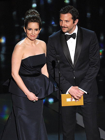 photo | Bradley Cooper, Tina Fey