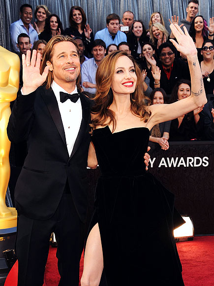 BRAD & ANGELINA