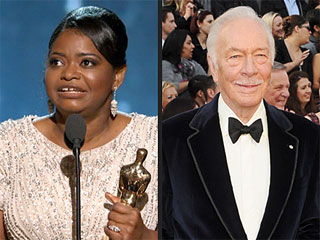 Octavia Spencer, Christopher Plummer Win Supporting Actor Oscars