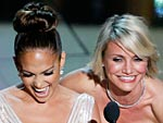 Jennifer Lopez's Stylist Defends Her Oscar Dress: There Was No 'Slip' | Cameron Diaz, Jennifer Lopez