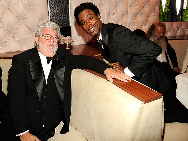 STAR GAZING photo | Chris Rock, George Lucas