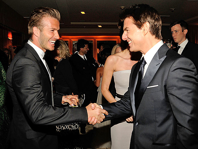 GALAXY OF STARS photo | David Beckham, Tom Cruise