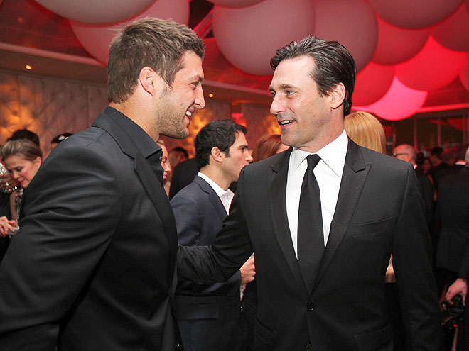 KEEPING  SCORE photo | Jon Hamm, Tim Tebow