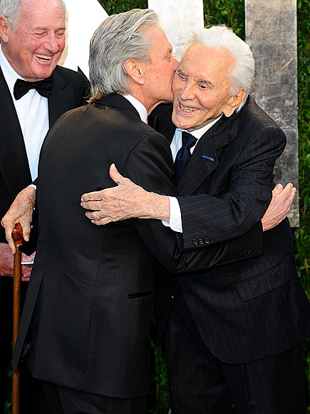 FAMILY REUNION photo | Kirk Douglas, Michael Douglas