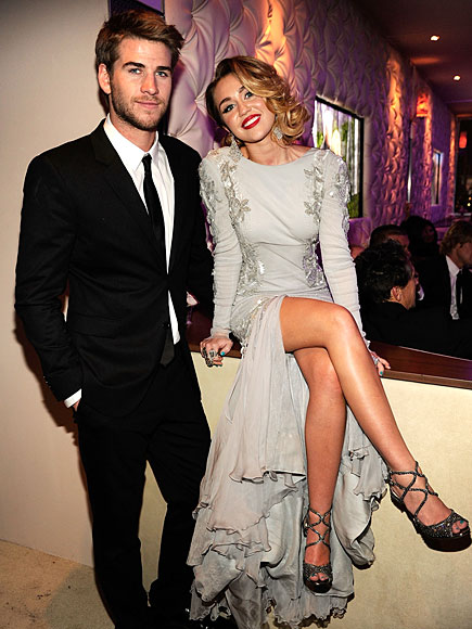 TAKE FIVE photo | Liam Hemsworth, Miley Cyrus